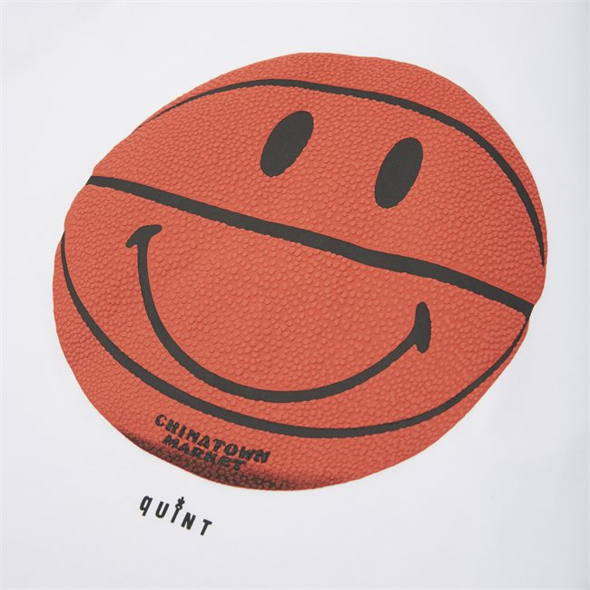 Smiley CTM X QUINT BBall Tee