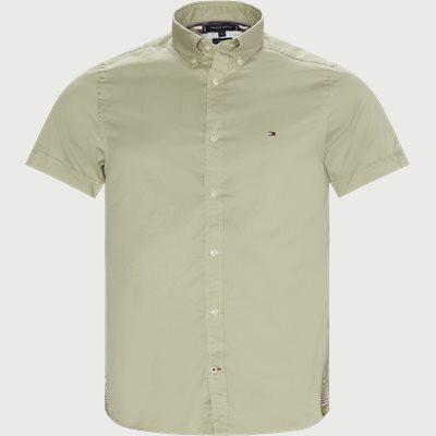 Slim Fine Twill Shirt S/S Slim | Slim Fine Twill Shirt S/S | Sand