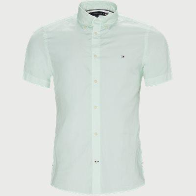 Slim | Short-sleeved shirts | Turquoise