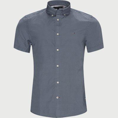 Slim | Short-sleeved shirts | Blue