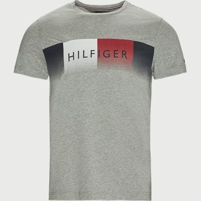 TH Cool Fade T-Shirt Regular | TH Cool Fade T-Shirt | Grå
