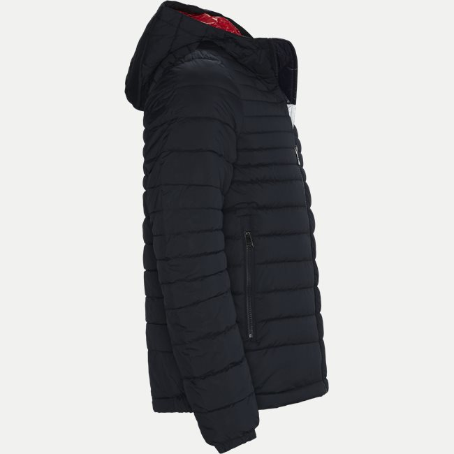 Quilted Hooded Jacket