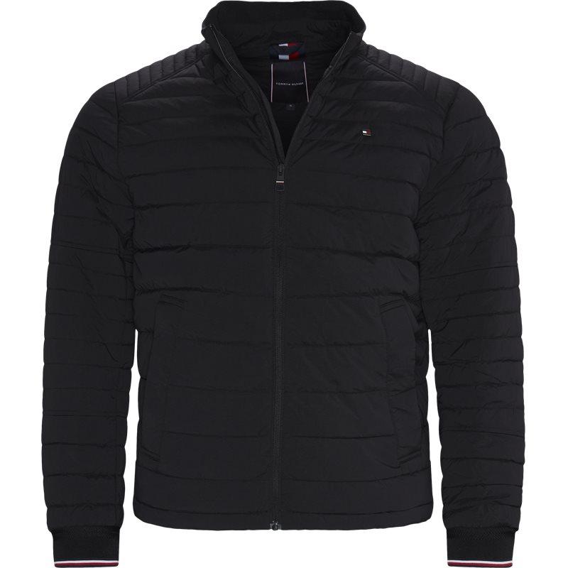 tommy hilfiger Tommy hilfiger - stretch quilted jacket fra kaufmann.dk