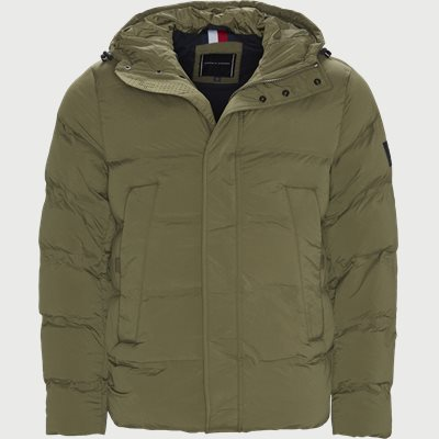 Hooded Stretch Jacket Regular | Hooded Stretch Jacket | Army