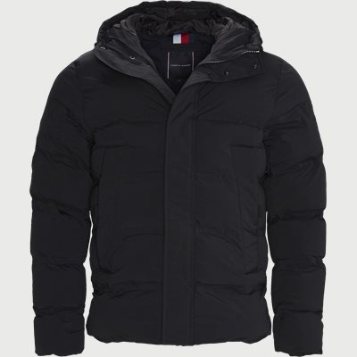 Hooded Stretch Jacket Regular | Hooded Stretch Jacket | Black
