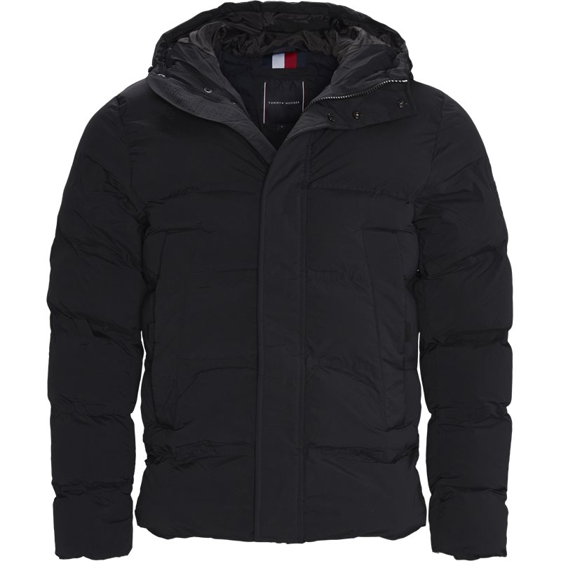tommy hilfiger Tommy hilfiger - hooded stretch jacket på kaufmann.dk