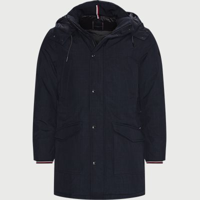 Eco Down Parka Jacket Regular | Eco Down Parka Jacket | Blå