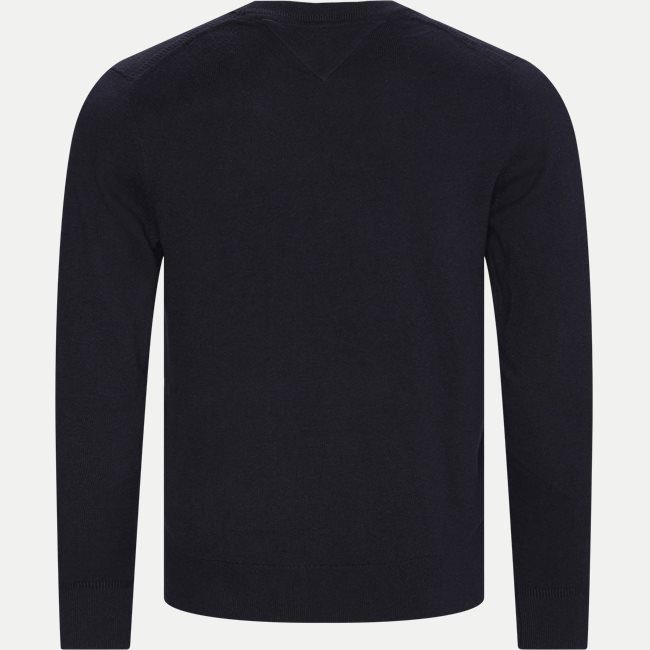 Pima Cotton Cashmere Crew Neck Striktrøje