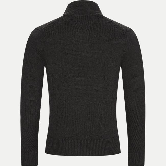 Chunky Cotton Zip Cardigan