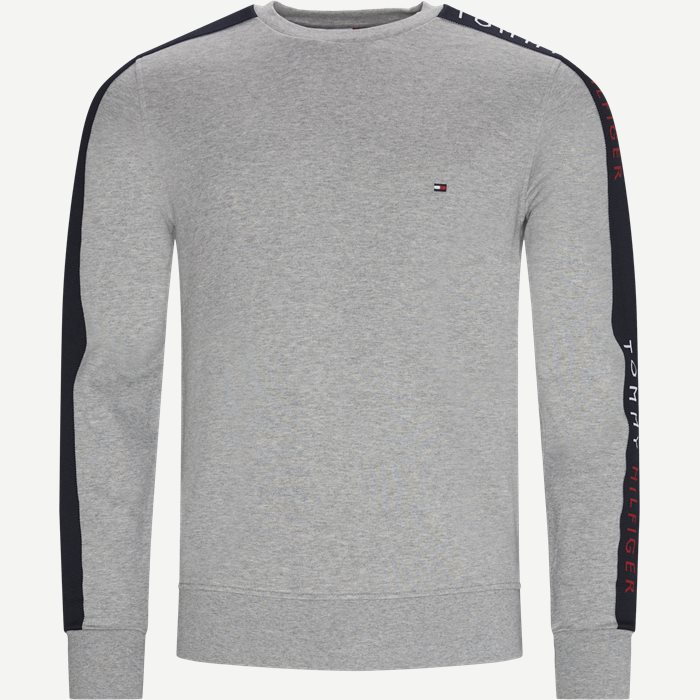 TAPE Crewneck Sweatshirt - Sweatshirts - Regular - Grå