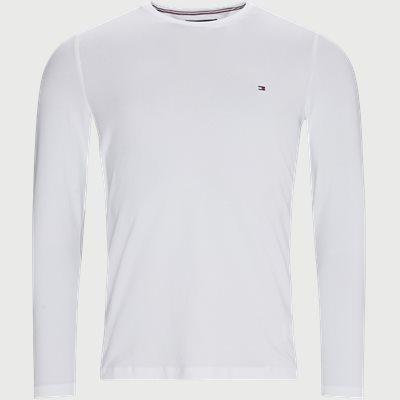 Stretch Long Sleeve T-shirt Slim | Stretch Long Sleeve T-shirt | Hvid