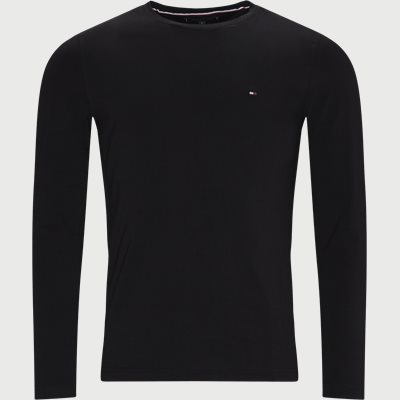 Stretch Long Sleeve T-shirt Slim | Stretch Long Sleeve T-shirt | Black