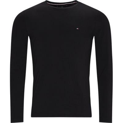 Stretch Long Sleeve T-shirt Slim   Stretch Long Sleeve T-shirt   Sort