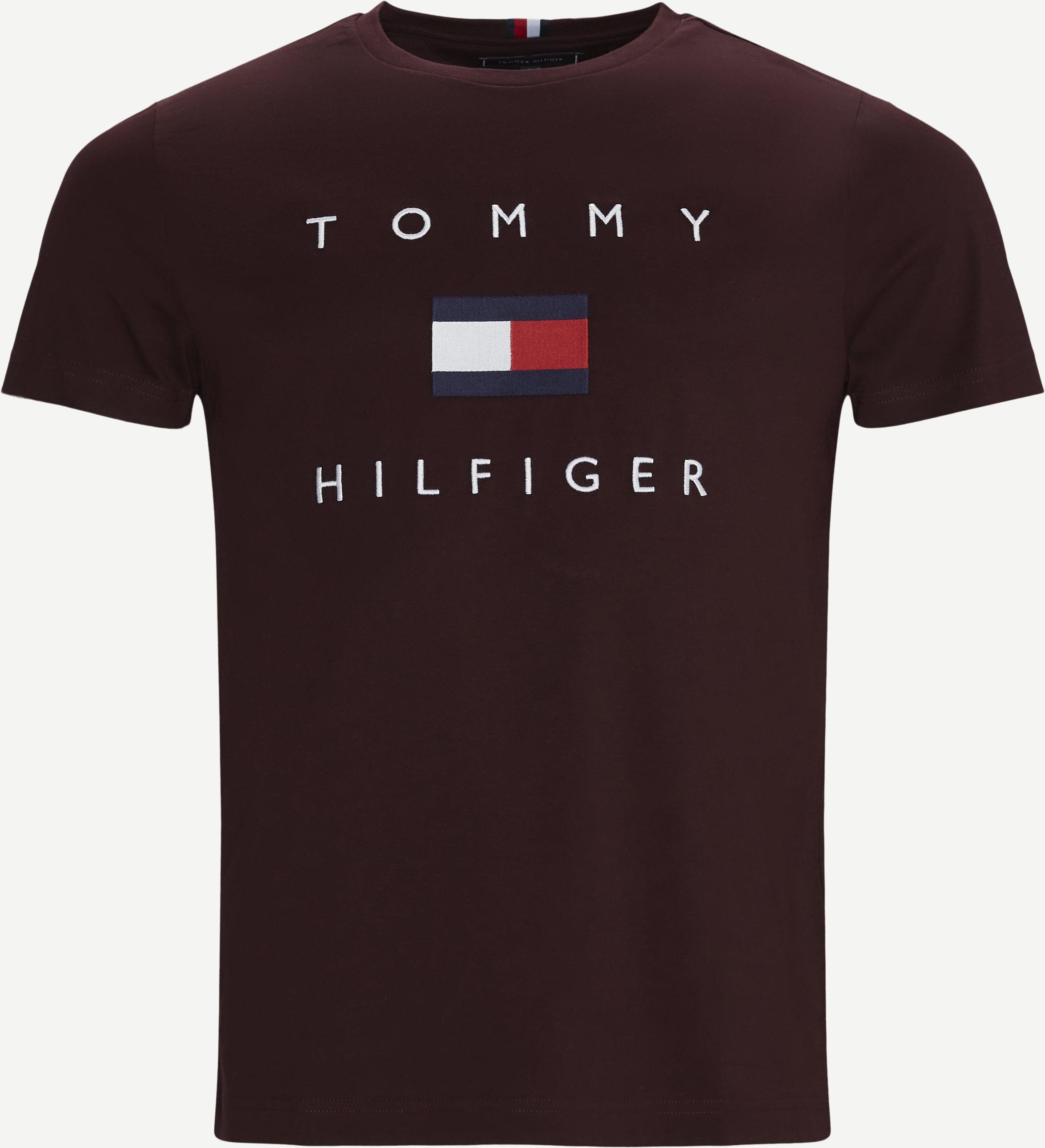 T-shirts - Regular - Bordeaux