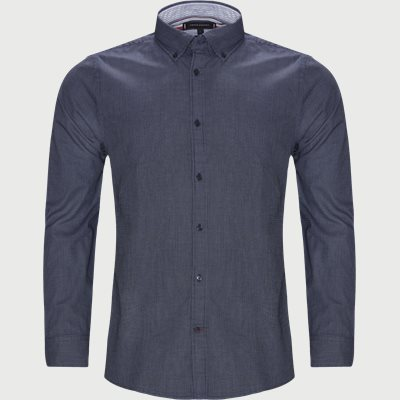 Textured Multi Dobby Shirt Slim fit | Textured Multi Dobby Shirt | Blue