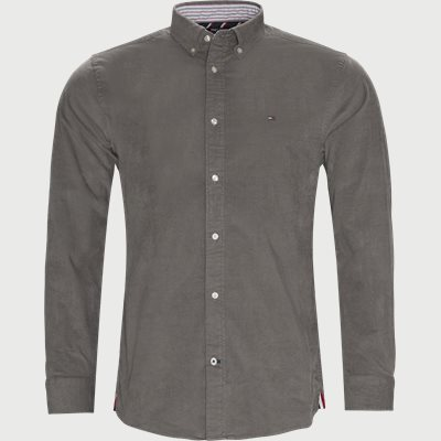 Flex Corduroy Shirt Regular | Flex Corduroy Shirt | Grå