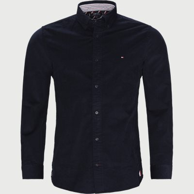 Flex Corduroy Shirt Regular | Flex Corduroy Shirt | Blå