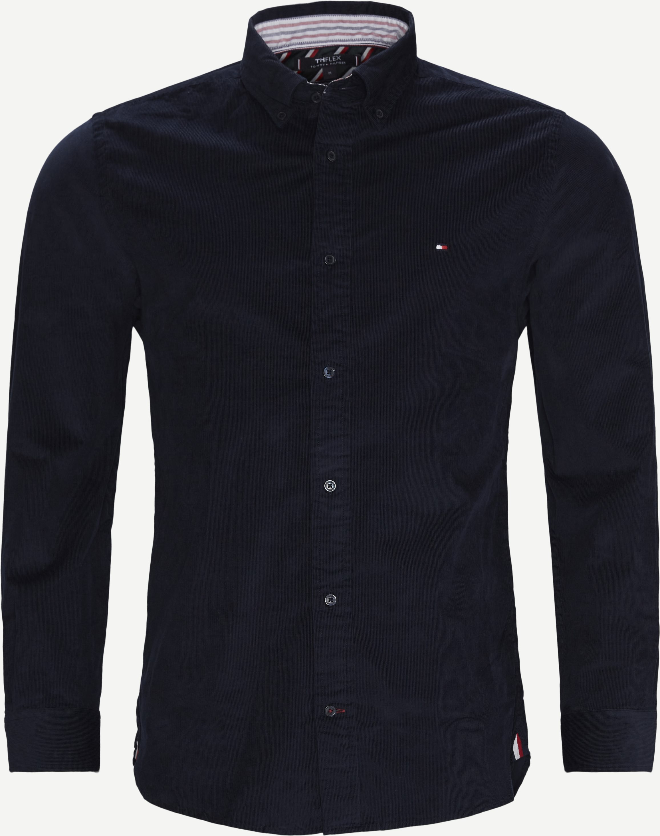 Flex Corduroy Shirt - Shirts - Regular - Blue