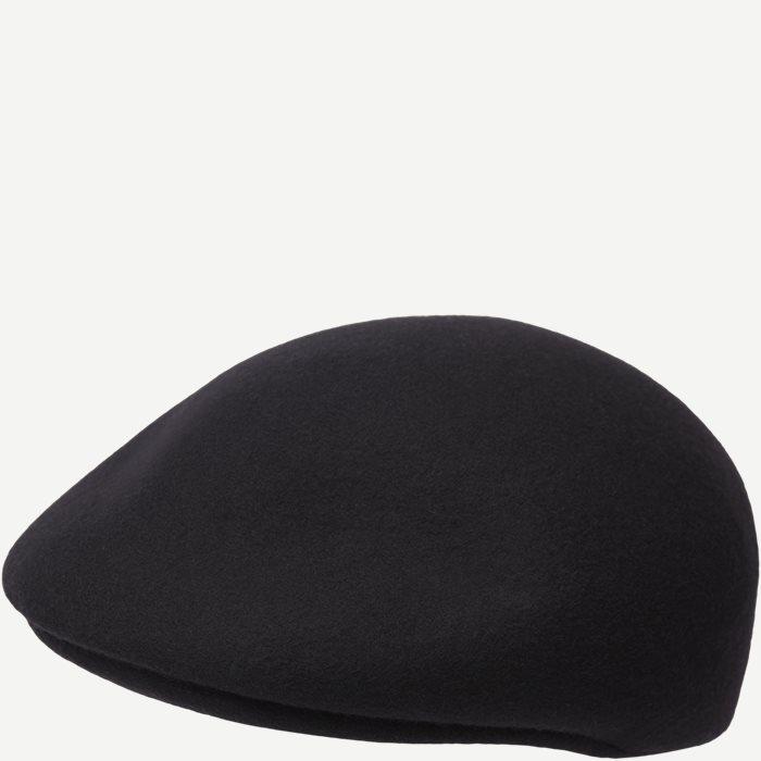 Uptown Flat Cap - Caps - Sort