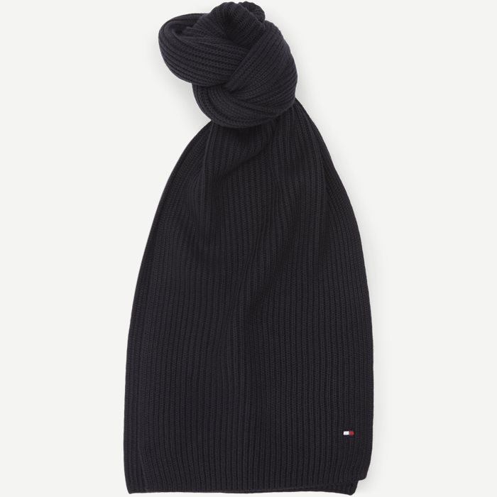 Pima Cotton Scarf - Tørklæder - Sort