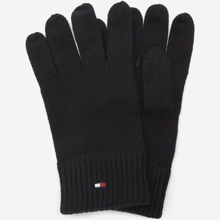 Pima Cotton Gloves - Handsker - Sort