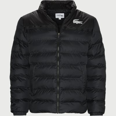 Two-Tone Water-Resistant Quilted Jacket Regular | Two-Tone Water-Resistant Quilted Jacket | Grå