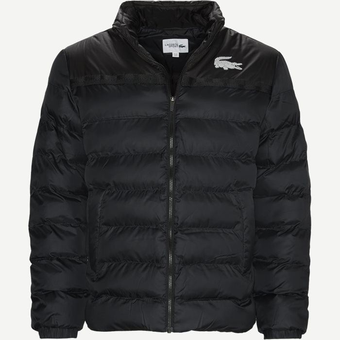 Two-Tone Water-Resistant Quilted Jacket - Jackor - Regular - Grå