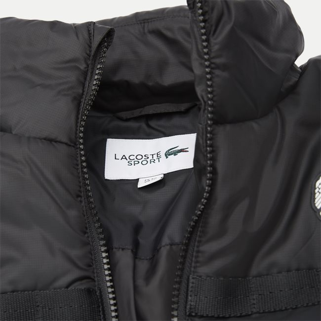 Two-Tone Water-Resistant Quilted Jacket