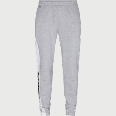 Bicolour Fleece Jogging Pants Regular | Bicolour Fleece Jogging Pants | Grå