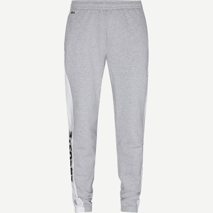 Bicolour Fleece Jogging Pants - Bukser - Regular - Grå