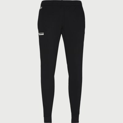 Badge Fleece Jogging Pants Regular | Badge Fleece Jogging Pants | Sort
