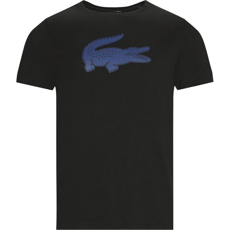 lacoste – Lacoste - 3d print crocodile breathable jersey t-shirt på kaufmann.dk