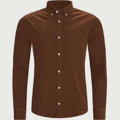 Levon Skjorte Regular | Levon Skjorte | Brun