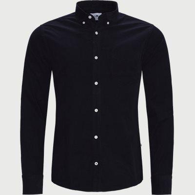 Levon Skjorte Regular | Levon Skjorte | Blå