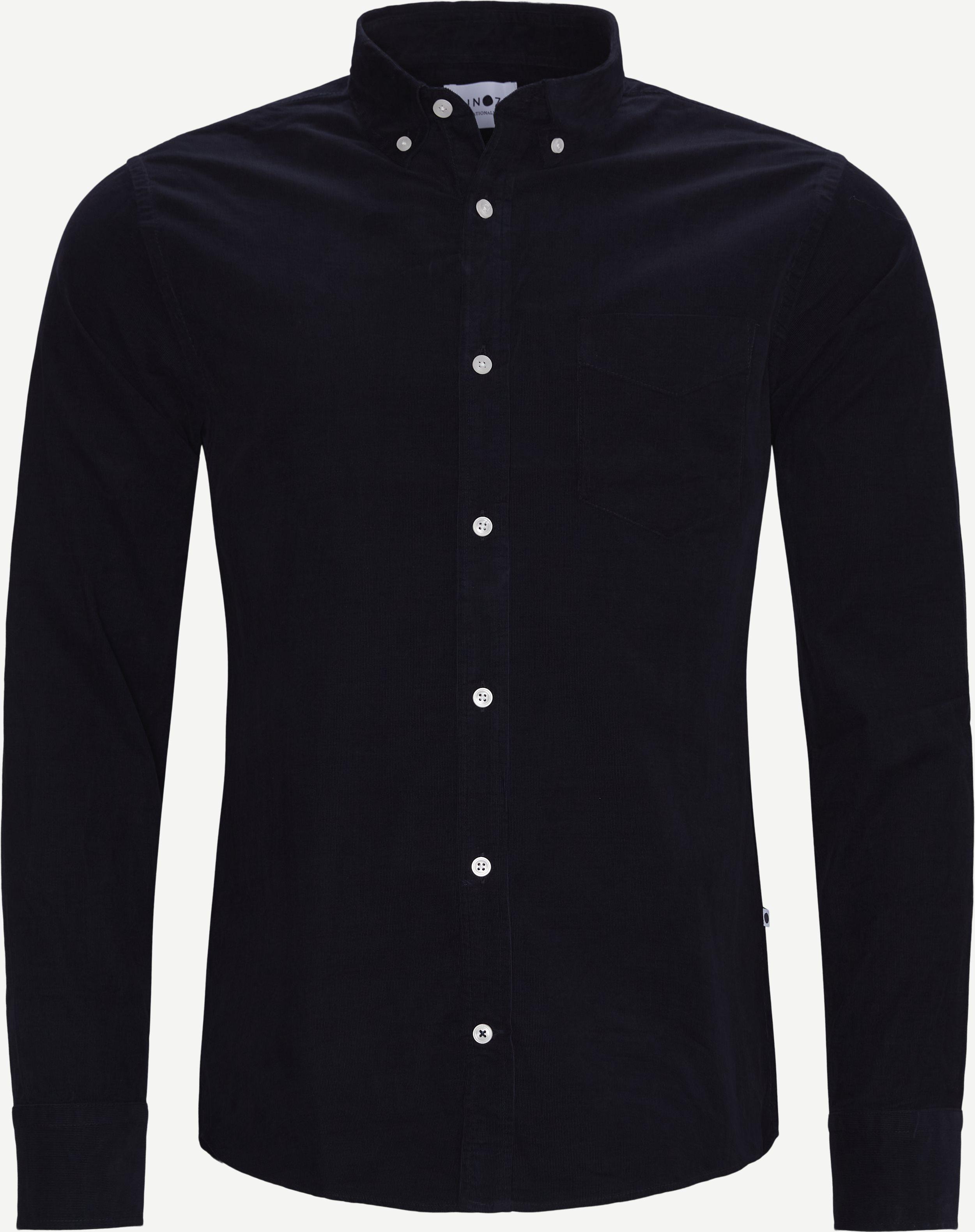 Levon Skjorte - Skjorter - Regular - Blå