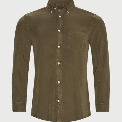 Manza Slim Shirt Slim | Manza Slim Shirt | Army