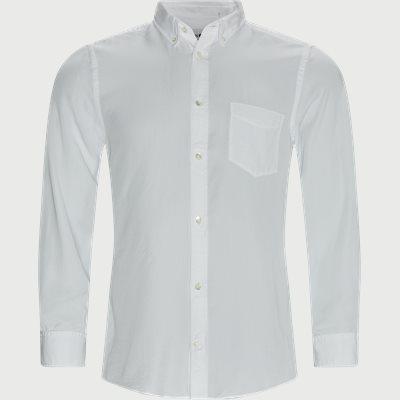 Manza Slim Shirt Slim fit | Manza Slim Shirt | Hvid