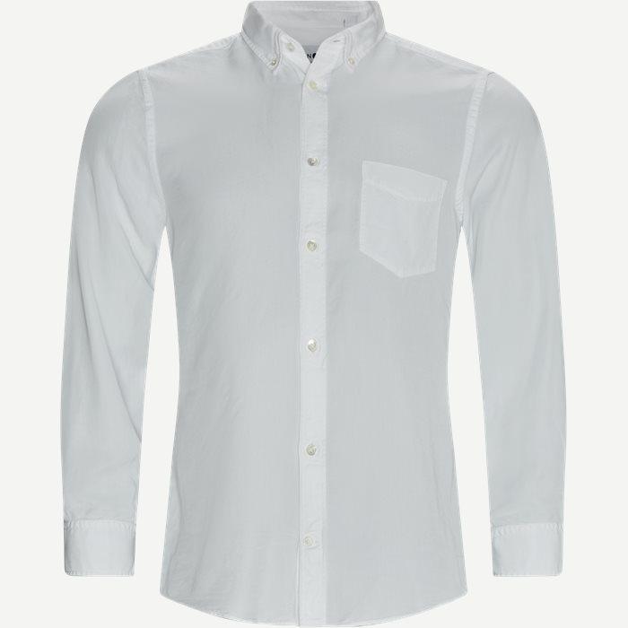 Manza Slim Shirt - Skjorter - Slim - Hvid