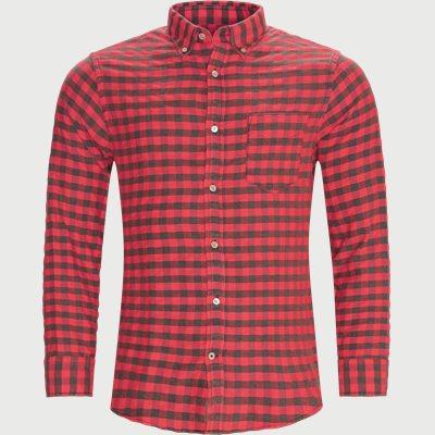Levon Skjorte Regular | Levon Skjorte | Rød