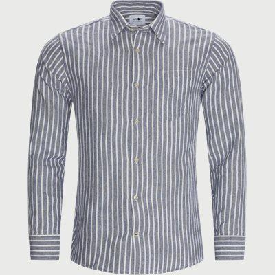 Errico Skjorte Regular | Errico Skjorte | Blå