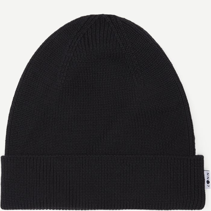 Nico Beanie - Caps - Sort