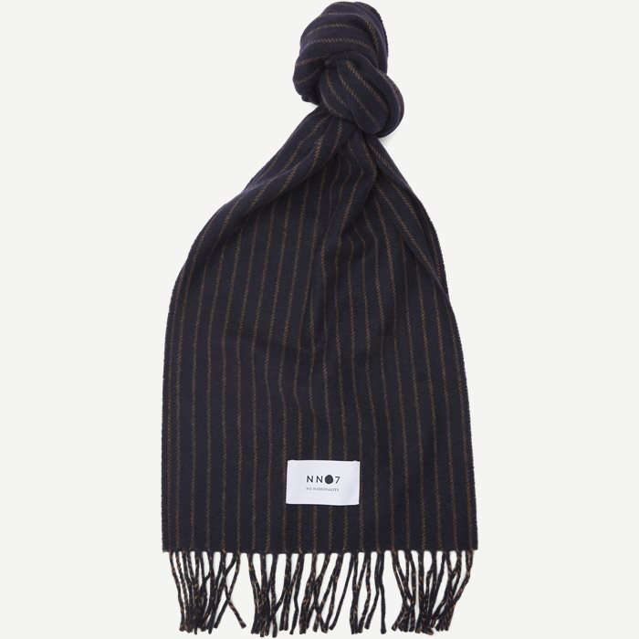 Scarf Stripe - Halsdukar - Blå