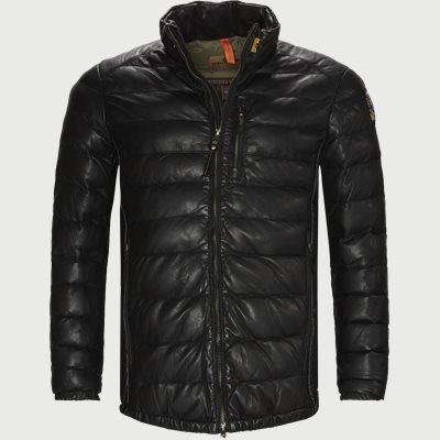 Ernie Leather Jacket Regular | Ernie Leather Jacket | Sort