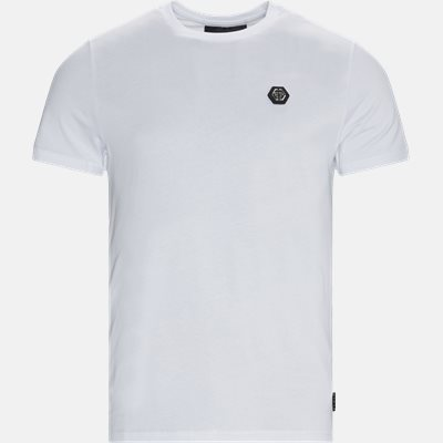 Round Neck Logo T-shirt Regular | Round Neck Logo T-shirt | Hvid