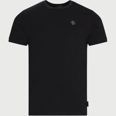 Round Neck Logo T-shirt Regular | Round Neck Logo T-shirt | Sort