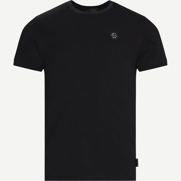 T-Shirts - Regular fit - Schwarz