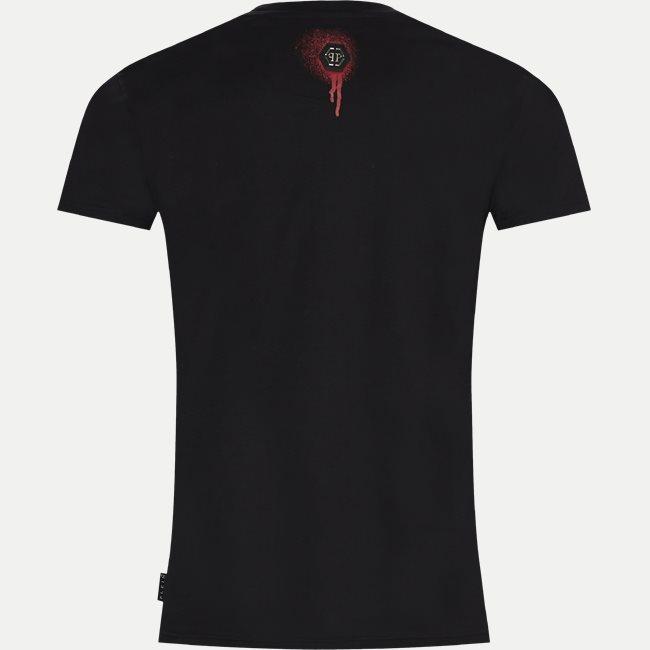 Round Neck Painted T-shirt