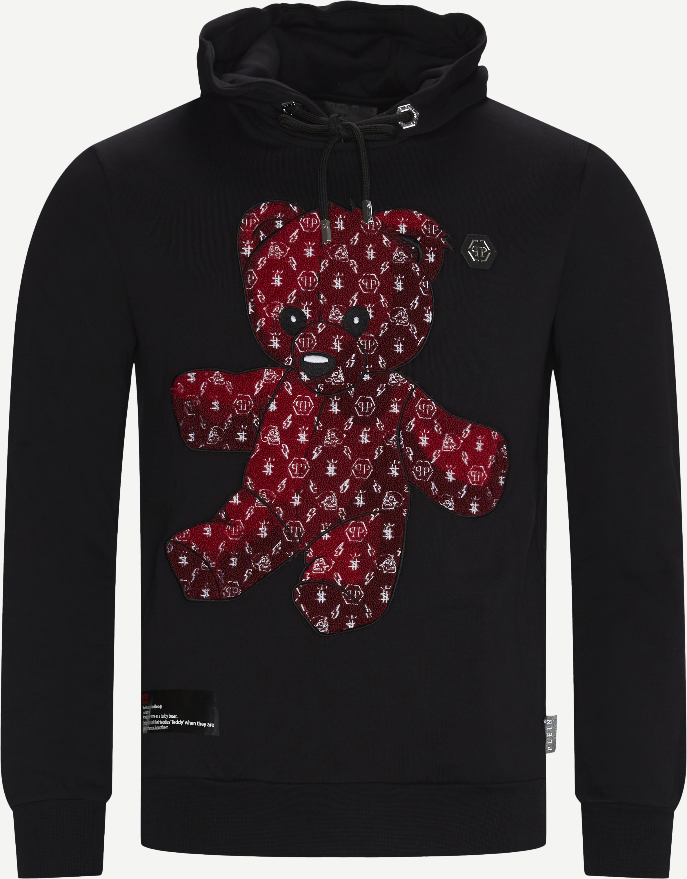 Teddy Bear Hoodie - Sweatshirts - Regular - Röd