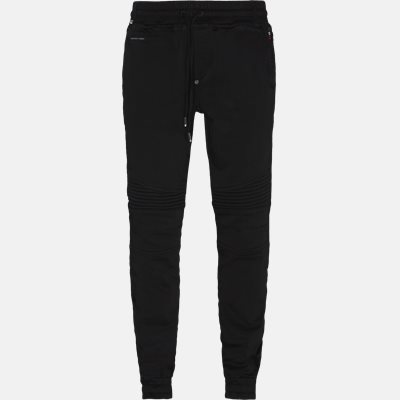 Regular fit | Comfort pants | Sort