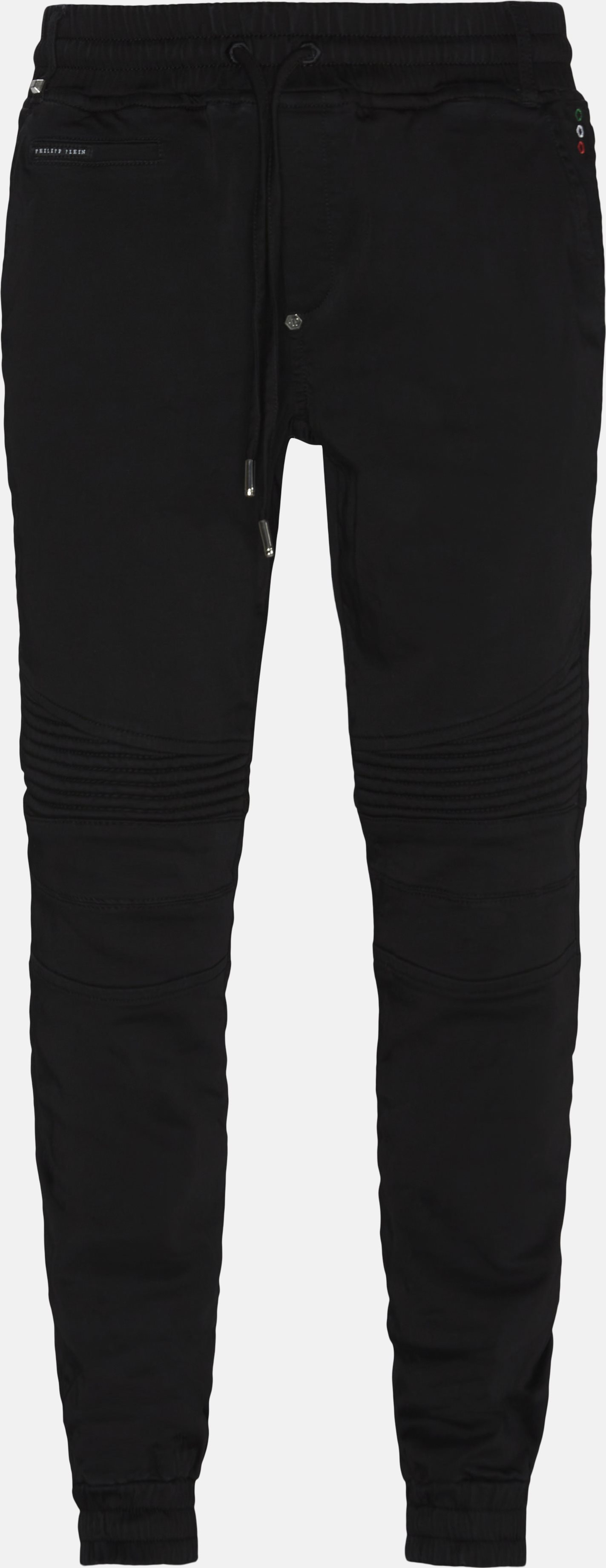 Comfort pants - Regular fit - Sort